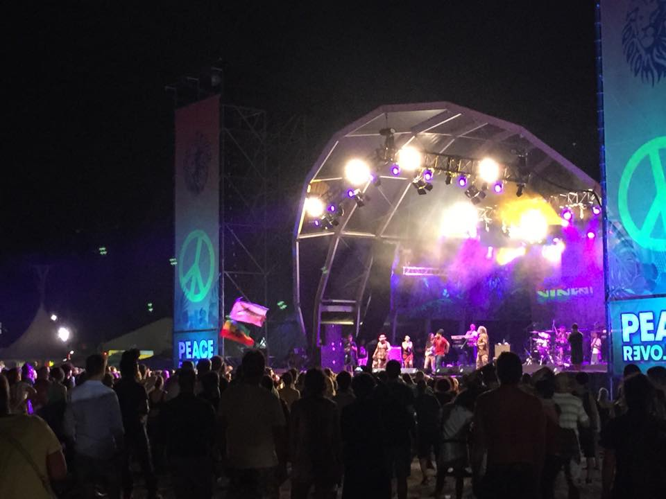 uwe at Rototom in Spain